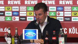 Trainer Dieter Hecking