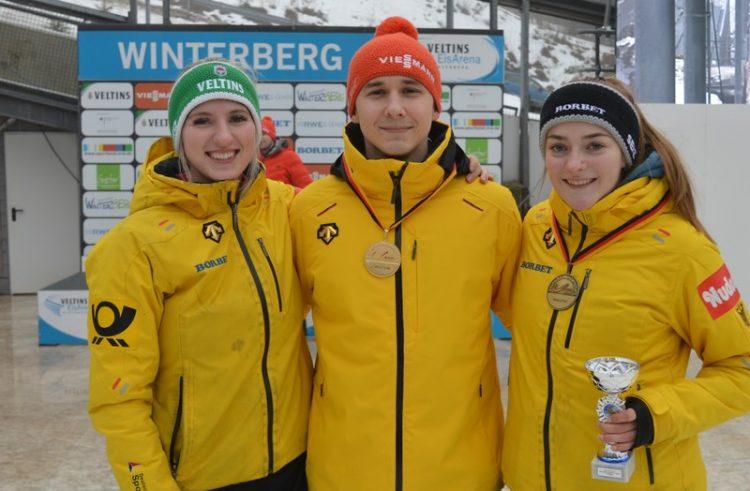 """Gold für Felix Seibel: """"Damit habe ich nicht gerechnet"""" / Bronzemedaille erfüllt Hannah Neise mit """"großem Stolz"""""""
