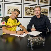 Borussia Dortmund leiht Achraf Hakimi aus / Yarmolenko nach West Ham