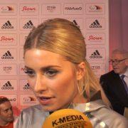 Topmodel Lena Gercke ist begeistert vom Olympia-Outfit