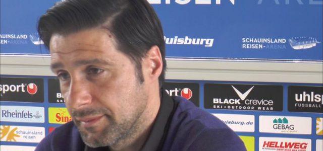 Interview mit MSV Coach Gruev: Wollen gefährlich sein, erfolgreich sein und Ergebnisse liefern