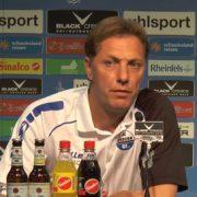 """Paderborns Coach Müller: """"Wir müssen uns akklimatisieren"""""""