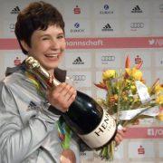 Strahlende Bronze-Gewinnerin: Laura Vargas-Koch