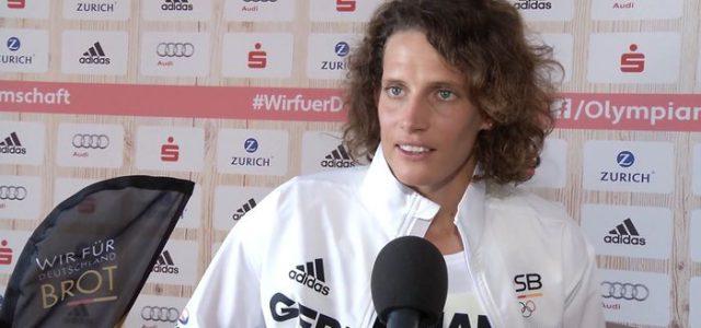 Lena Schöneborn setzt sich keine feste Platzierung als Ziel