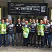 Der neue Hauptsponsor Udo Krollmann hat große Pläne mit dem VfL Eintracht Hagen