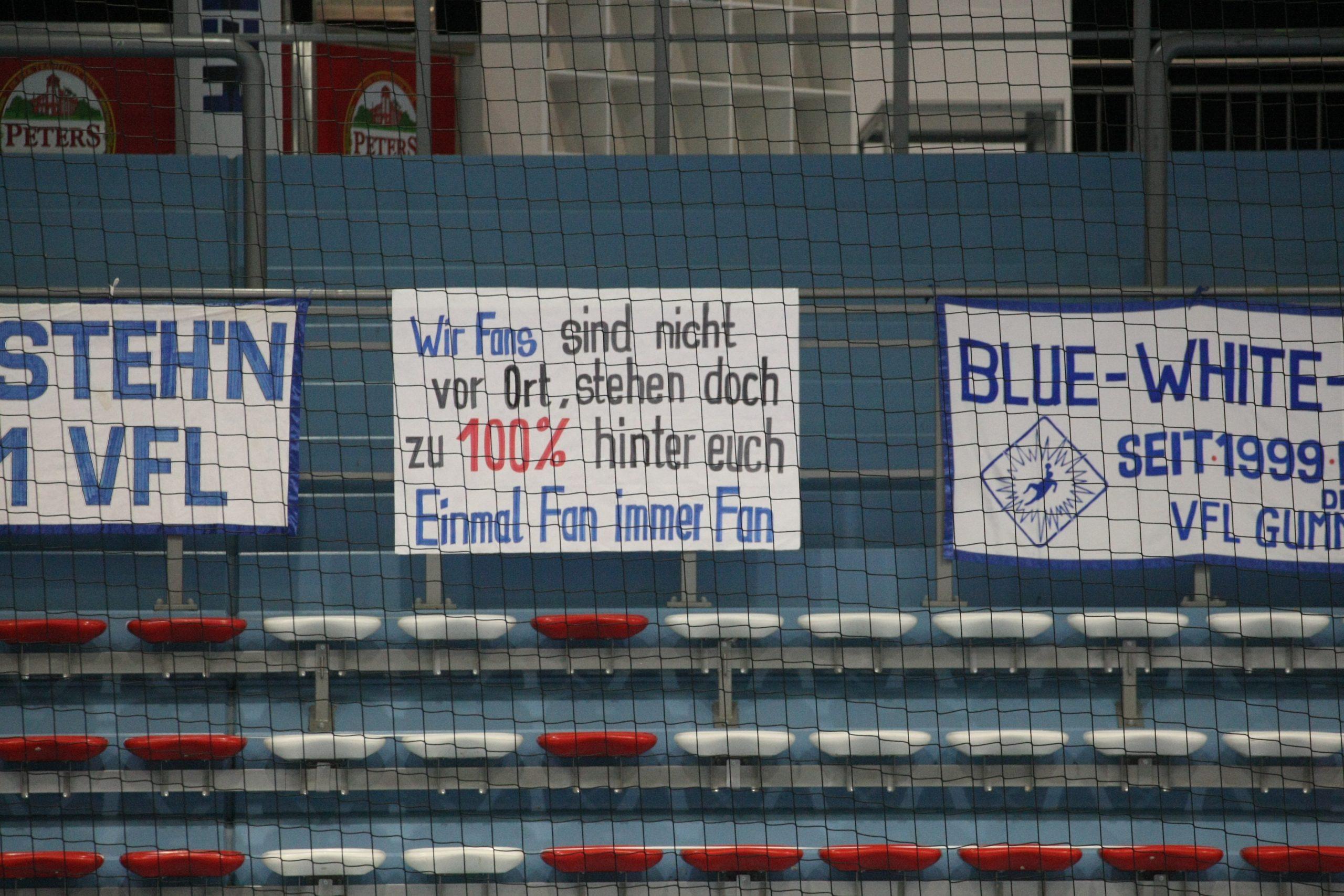 VfL plant mit bis zu 1.000 Zuschauern bei den letzten beiden Heimspielen