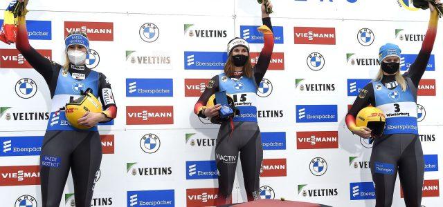 Julia Taubitz dominiert in Winterberg