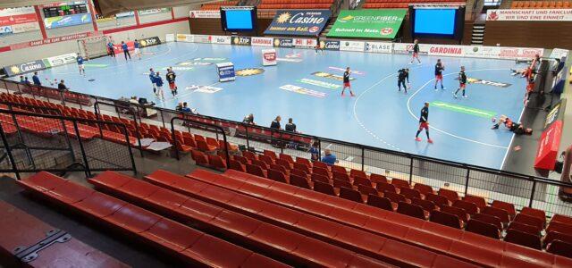 TuS N-Lübbecke darf mit 500 Zuschauern gegen Dessau und Ferndorf planen