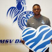 """MSV """"ein Traum, ohne Zweifel"""": Rudy Ndualu wird ein Zebra"""