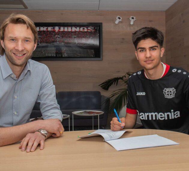 Bayer 04 verpflichtet dänisches Top-Talent Zidan Sertdemir