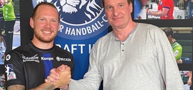 Bergischer HC verpflichtet Emil Hansson