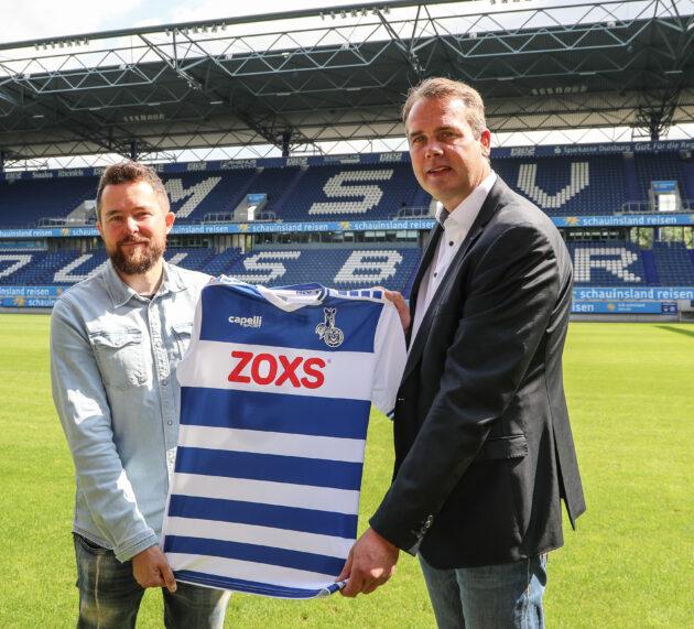 ZOXS neuer Haupt-und Trikotsponsor des MSV Duisburg – Saisonauftakt in Osnabrück abgesagt!