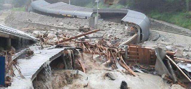 In Gedanken bei den Hochwasseropfern – Winterberg springt für Königssee ein