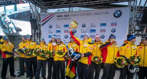 BMW IBSF Weltcup Bob + Skeleton