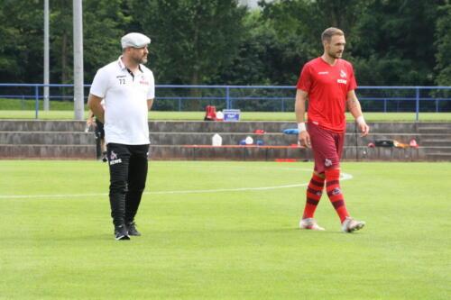 Testspiel MSV Duisburg - 1. FC Köln
